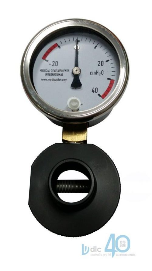MANOMETER GUAGE AND RELEIF VALVE -20 to +40cm