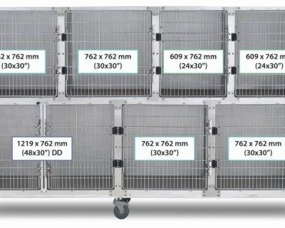 9' Assembly, Stainless Steel Cage Option B