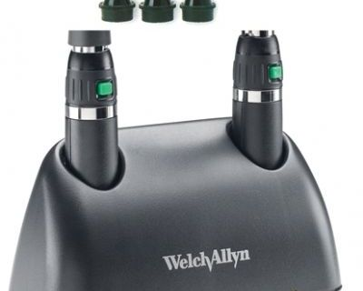 Welch Allyn Coaxial Diagnostic Set with 3.5V Lithium Ion Handles