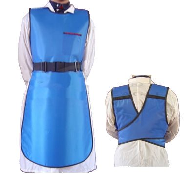 X-Ray Apron 1/4 Back .5PB Buckle 80x110cm