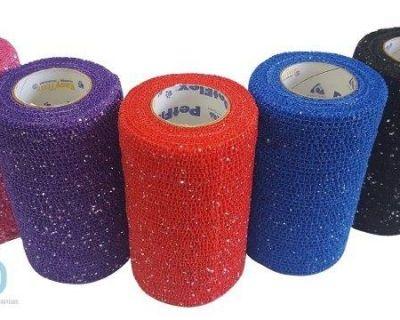 Petflex Cohesive Glitter Bandages