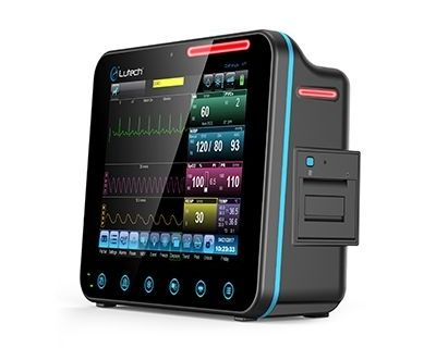 Datalys V7 Multi-Parameter Monitor CO2/ECG/NIBP/SPO2/RESP/TEMP Sidestream